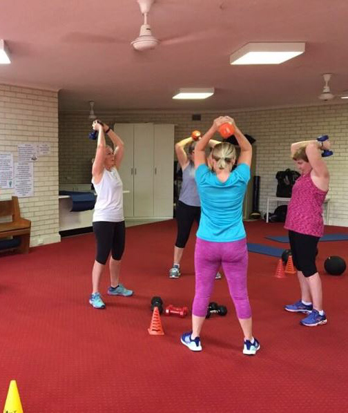 group fitness classes parent mother child arana hills