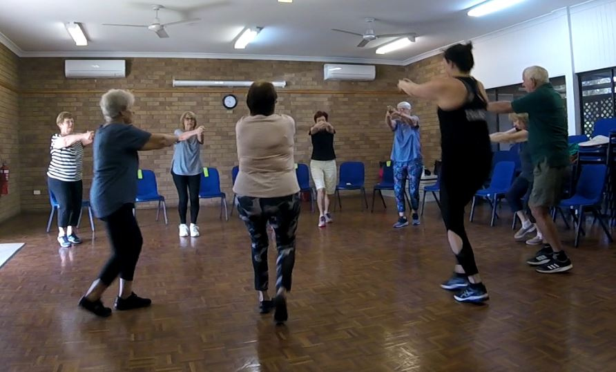 Exercise for the Over 50's – Move it or lose it – Samford and Arana Hills