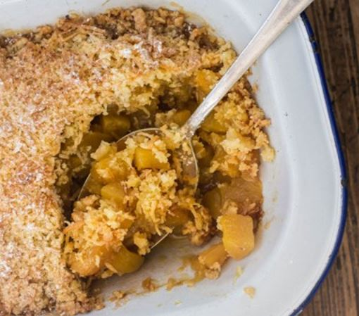 pineapple crumble