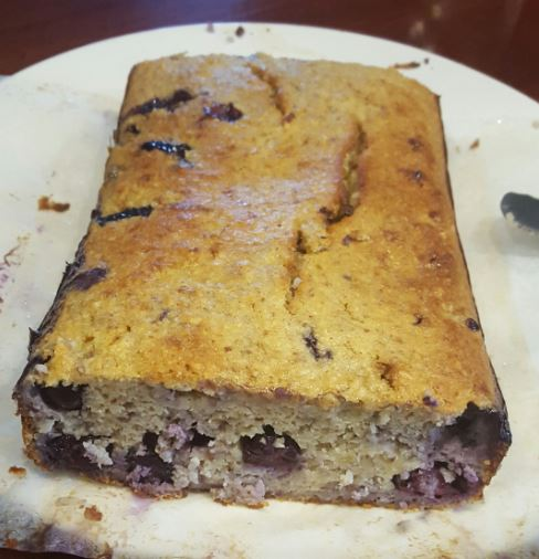 Blueberry Banana Bread (GF, paleo)