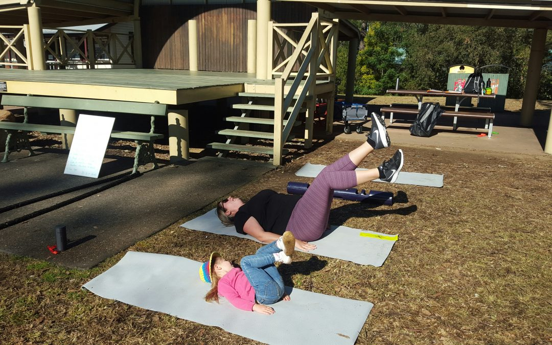 Mum Power – a outdoor exercise class for Mums & Bubs at Samford (Brisbane's North)