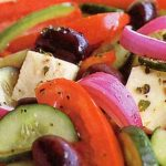 greek-salad-with-red-wine-vinegar-yogurt-dressing