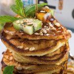cinnamon-protein-pancakes