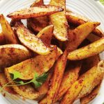spicy-potato-wedges-with-faux-sour-cream