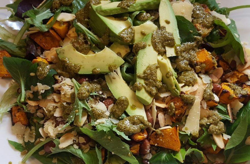 Freekeh & Pumpkin Salad