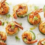 bbq-paprika-prawns-with-green-cream
