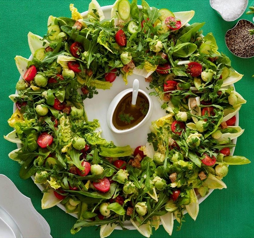 161220 xmas wreath salad